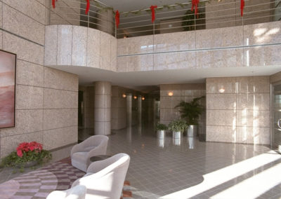 Lobby, Quroum II Office Building